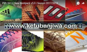 PES 2013 Bootpack 5.0 Season 2017-2018 by DaViDBrAz