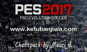 PES 2017 Chant Pack by Mauri_d