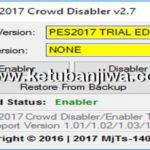 PES 2017 Crowd Disabler 2.7 Tools