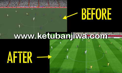 PES 2017 Fix Turf PTE Patch Stadium Pack 1.0 Ketuban Jiwa