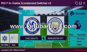 PES 2017 In-Game Scoreboard Switcher v3 by Ginda01