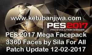 PES 2017 Mega Facepack 3360 Faces by Sila