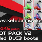 PES 2017 SMoKE Bootpack v2 + DLC 3.0 Boots