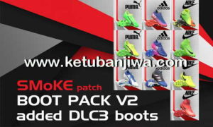 PES 2017 SMoKE Bootpack v2 + DLC 3.0 Boots
