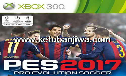 PES 2017 XBOX 360 Data Pack DLC 3.0 Download Ketuban Jiwa