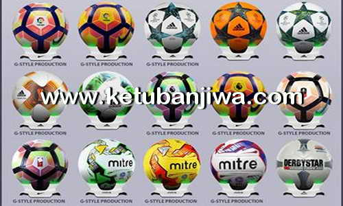 Download PES 2017 Ballpack Update 2.0 by G-Style Ketuban Jiwa