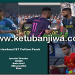 PES 2017 Tattoo Pack by Kelvinchan327