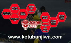PES 2017 iPatch 1.1 Update Liga 1 Indonesia