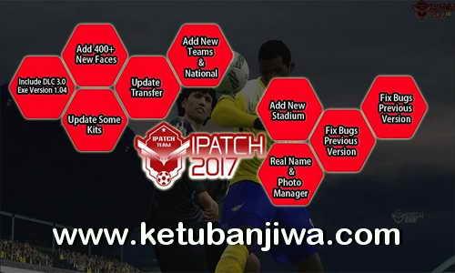 Download PES 2017 iPatch v1.1 Update Liga 1 Indonesia Torrent Ketuban Jiwa