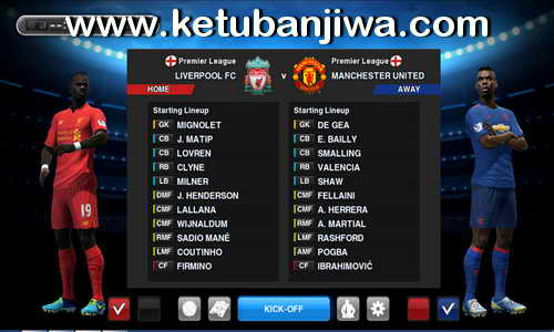 PES 2013 PESEdit Factory Patch Season 2016-2017 Ketuban Jiwa