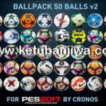 PES 2017 Ballpack 50 Balls v2 by cRoNoS