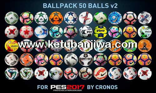 PES 2017 Ballpack 50 Balls v2 by cRoNoS Ketuban Jiwa