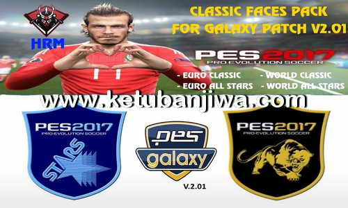 PES 2017 Classic Facepack For PESGalaxy Patch 2.01 by HRM Ketuban Jiwa