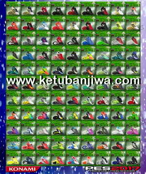 PES 2017 New Bootpack 100 Boots Update 24 March 2017 by Oxarapesedit Ketuban Jiwa