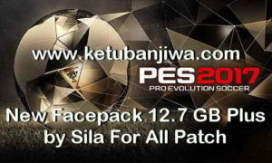 PES 2017 New Mega Facepack 3360 Faces by Sila