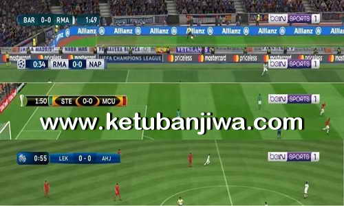 PES 2017 New TV logo BeIN Defaut Scoreboards by Nassim Ketuban Jiwa
