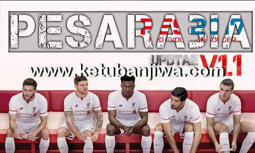 PES 2017 PESArabia Patch Update v1.1 Ketuban Jiwa