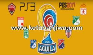 PES 2017 PS3 Liga Aguila Option File