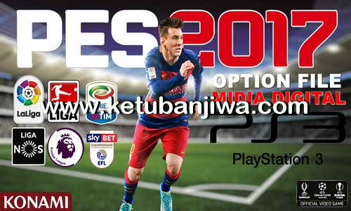 PES 2017 PS3 RP07 Option File v1 Ketuban Jiwa