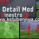 PES 2017 PS4 Detail Mod For PC by Sinestro19