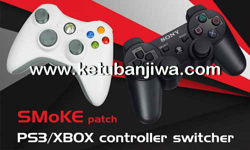 PES 2017 SMoKE PS3 - XBOX Controller Switcher Button For PC Ketuban Jiwa