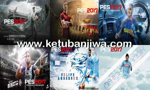 PES 2017 Serie A Startscreen Pack by Sofyan Andri Ketuban Jiwa