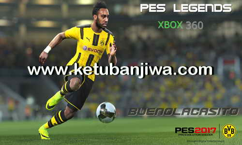 PES 2017 XBOX 360 Legends Patch Boots + Balls + Gloves DLC 3.0 Ketuban Jiwa
