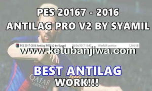PES 2016 + PES 2017 Antilag Pro v2 by Syamil