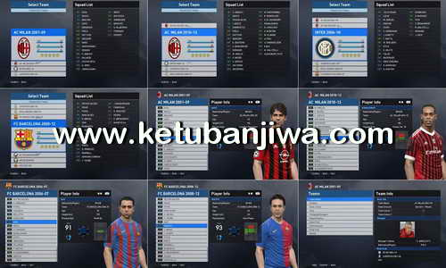 PES 2017 Classics Era Teams v3.0 by Fast Eagle Ketuban Jiwa