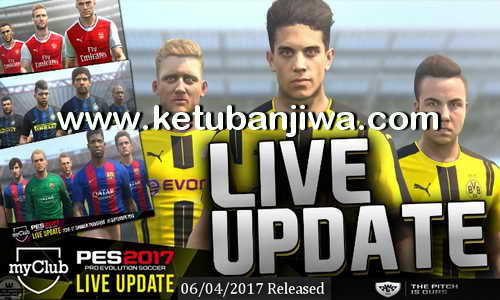PES 2017 New Tactic + Formation Live Update 06.04.2017 Ketuban Jiwa