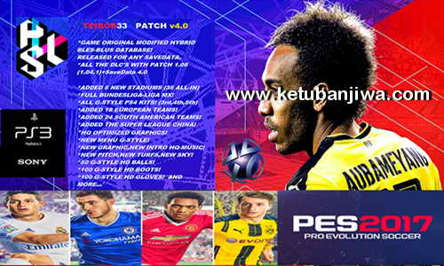 PES 2017 PS3 CFW BLES - BLUS TEIBOR 33 Patch 4.0 Ketuban Jiwa
