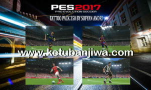 PES 2017 Tattoo Pack 350 by Sofyan Andri