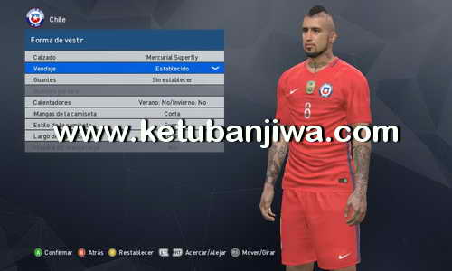 PES 2017 XBOX 360 Patch 290 Tattoos by Buenolacasito Ketuban Jiwa