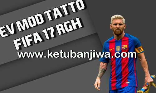 FIFA 17 XBOX 360 RGH EV Mod Tattoo Ketuban Jiwa