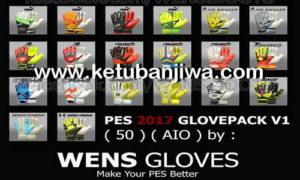 PES 2017 Full HD 50 Glovepack v1.0 AIO by Wens Ketuban Jiwa