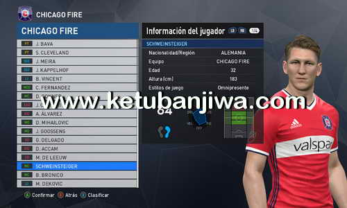 PES 2017 MLS Stars v3.0 For PTE Patch 5.2 by Julcesar Ketuban Jiwa