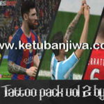 PES 2017 Mega Tattoo Pack Vol 2 AIO by Amir.Hsn7