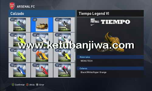 PES 2017 New Bootpack 100 Boots by Jean Carlos Ketuban Jiwa