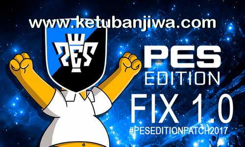 PES 2017 PES Edition Patch Fix 1.0 Ketuban Jiwa