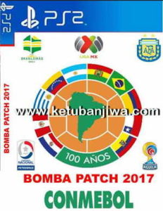 PES 2017 PS2 Bomba Patch CONMEBOL Update