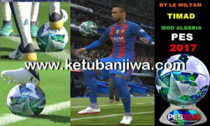 PES 2018 Ball For PES 2017 by LE Wilyam