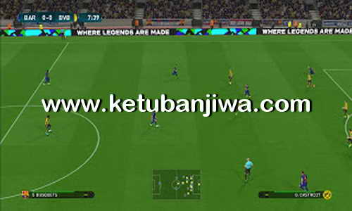 PES 2018 Pitch Fantasy Camp Nou + SIP For PES 2017 by Abid Nabawi Ketuban Jiwa