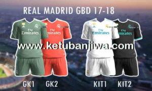 PES 2013 Real Madrid GDB Kits 2017-2018