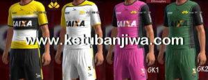 PES 2013 Criciúma Kits Pack Season 2017-18