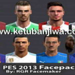 PES 2013 Facepack v4 by RGR Facemaker