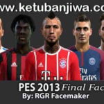 PES 2013 Final Facepack by Rgr Facemaker