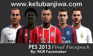 PES 2013 Final Facepack by Rgr Facemaker