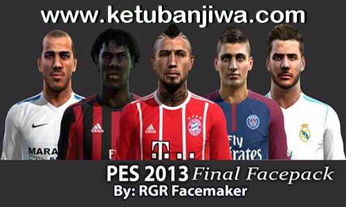 PES 2013 Final Facepack by Rgr Facemaker Ketuban Jiwa