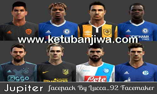 PES 2013 Jupiter Facepack Update Season 2017-18 by Lucca_92 Facemaker Ketuban Jiwa