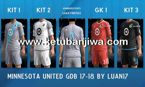 PES 2013 Minnesota United FC GDB Kit Season 2017-18 by Luan17 Ketuban Jiwa